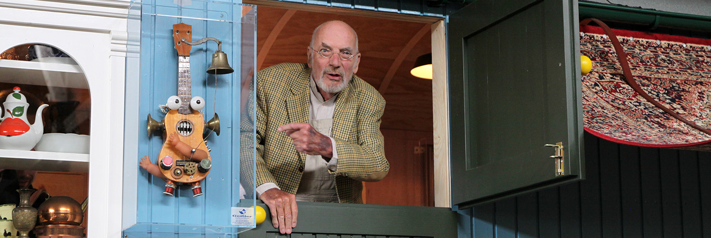 Peter Lustig zu Gast im Technikmusuem Freudenberg