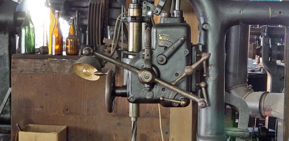 in der Maschinenwerkstatt