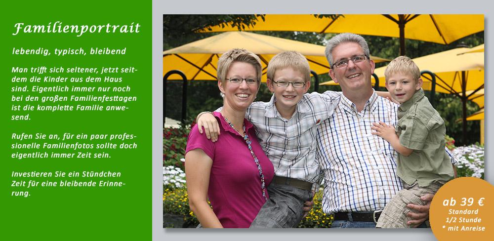 Angebot Familienportrait